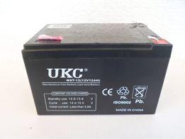 Аккумулятор АКБ 12 вольт 12 ампер гелевый бытовой для ибп