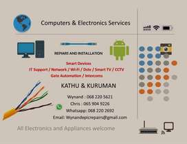 Computers and electronics services