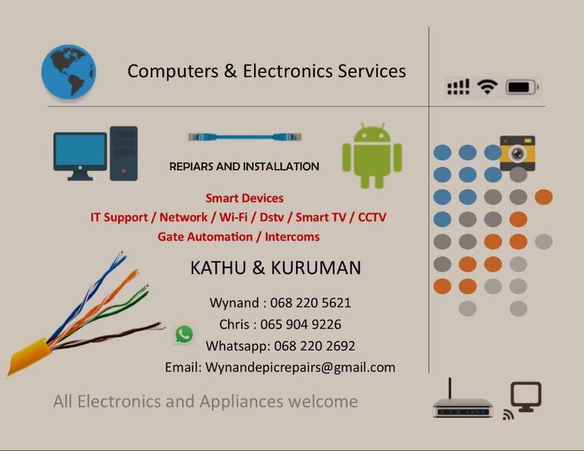 Computers and electronics services 0