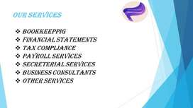 Bookkeeping, Accounting and Tax compliance Services Offer.