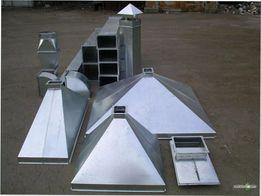 Воздуховоды, вытяжка, вентиляция (изготовление)