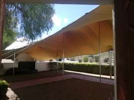 Stretch tents manufacturer sales and hire