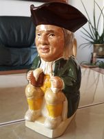 "Kufel kolekcjonerski 0.6 litra. ""TOBY"" by WOOD & SONS - Anglia"