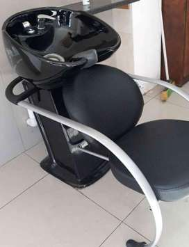Salon Chair with basin