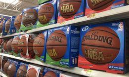 Мяч баскетбольный Spalding NBA оригинал.