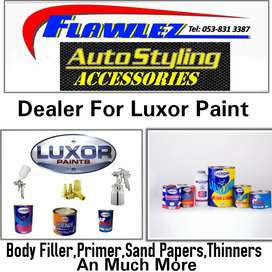 We Sell Paint An Production Material for Panel Beaters.