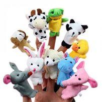 Набор развивающая игрушка на пальцы,кукольный пальчиковый театр,звери