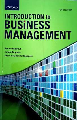 Introduction to Business Management - 10th Edition