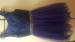 Sukienka rozkloszowana tiul xs s nowa wysyłka gratis