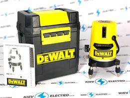 Лазерный уровень нивелир DEWALT DW077K POLAND (30м+5 линий+тренога)