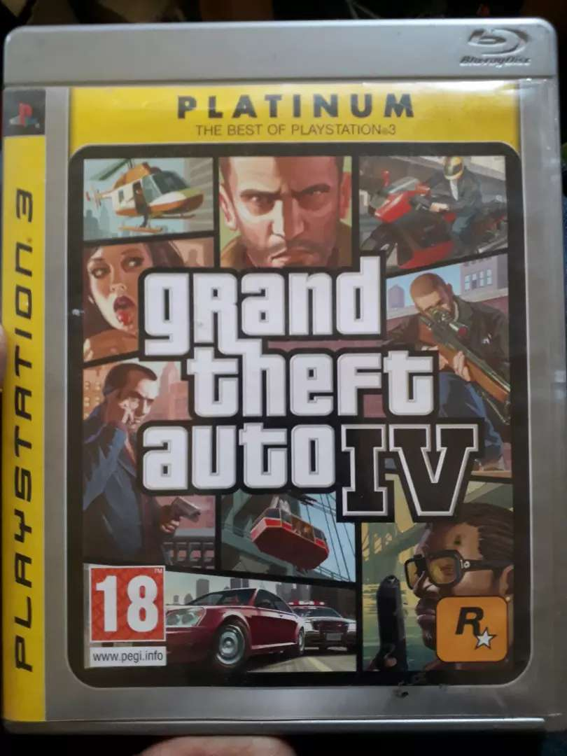 GTA IV PS3 0
