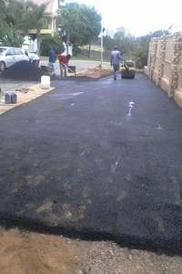 Image of Tar surfacing and paving