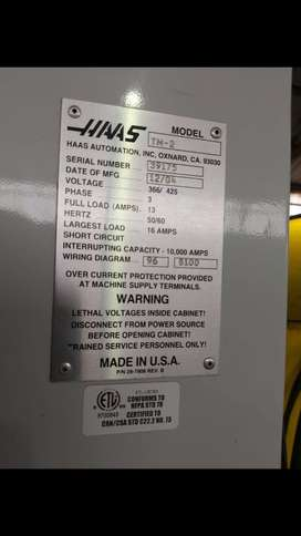 2004 HAAS Vertical CNC Machine