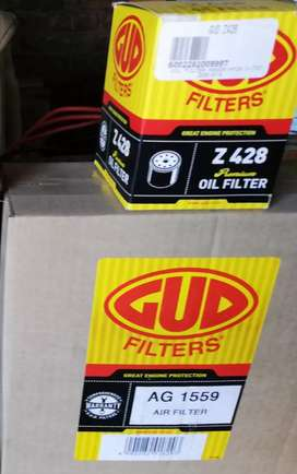 Air Filter and Oil Filter