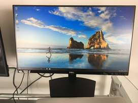 Dell 22inch IPS FHD PC monitor screen Edgeless