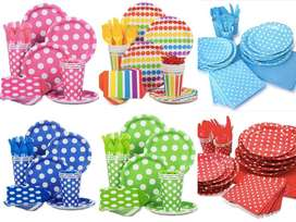Catering, Party supplies and Cakes