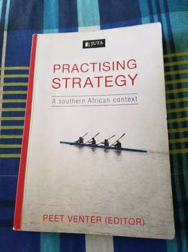 Practising strategy  (UNISA) textbook for sale
