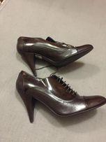 Шкіряні туфлі,38 розмір
