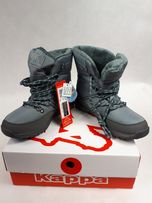 Śniegowce KAPPA Balto Tex 242364 Grey/Mint 1637 kozaki 37 kozaki botki