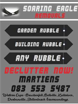 Gardenwaste, Building Rubble and Clutter Removal