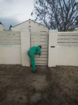 NUTEC GALVANIZED STEEL FRAMED GATES AND FENCING