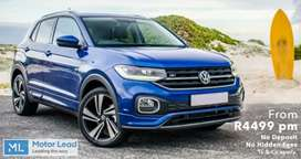 Brand New 2021 Volkswagen T-Cross from R4499pm