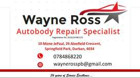 Wayne Ross Autobody Repair Specialist