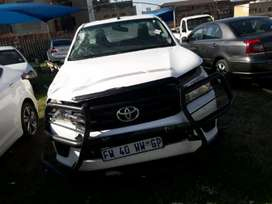 2018 Toyota Hilux GD6 Single Cab Stripping For Spares