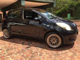"Toyota Yaris hash back with 17"" BBS rims"