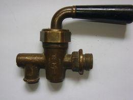 Кран бронзовый пробковый водоразборный пол дюйма.
