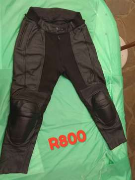Ladies Motorbiking Gear - RST leather pants and leather jacket