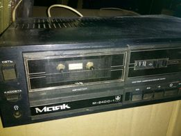 Касетний стереомагнітофон Маяк М-240 С-1