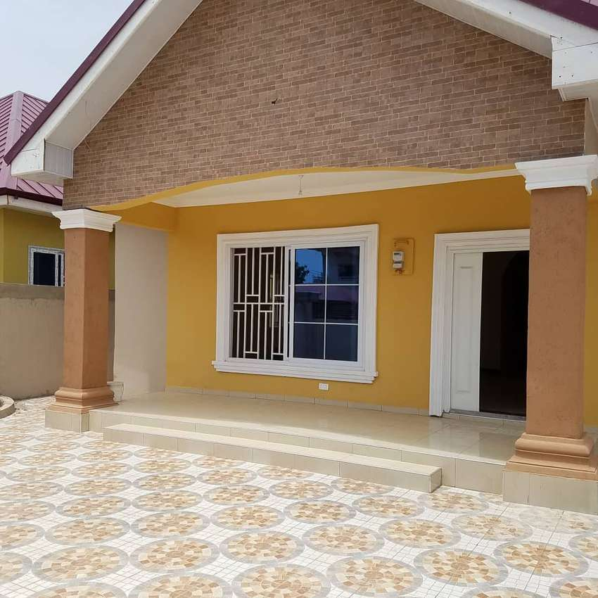 New 3 bedroom ensuite house for sale at Bastonaa, Spintex. 0