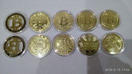 Bitcoin монета Биткоин