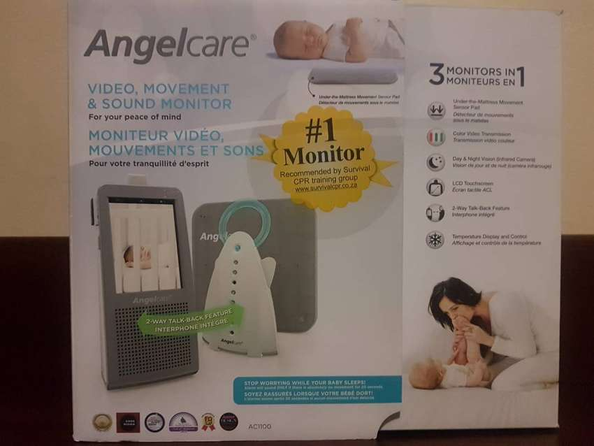 Angelcare Digital Video, Movement & Sound Monitor (AC1100) 0