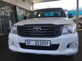 Toyota Hilux 2.5 single cab