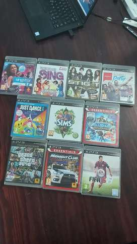 PS3 Games. Top row: R50 ea/all R150, middle: R80ea, bottom: R100ea