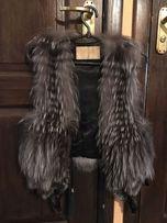 Продам меховой жилет из чернобурки