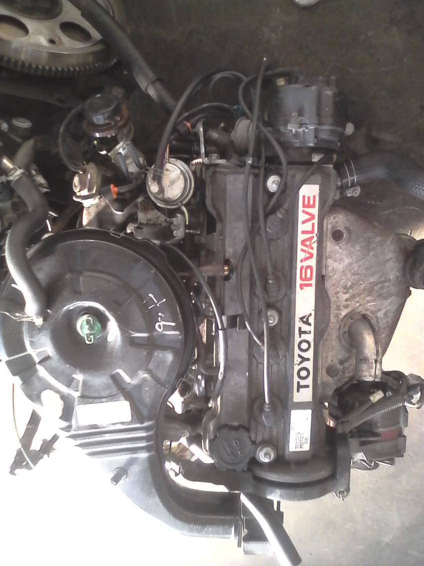 Toyota Corolla 1.6 carb engine for sale 0