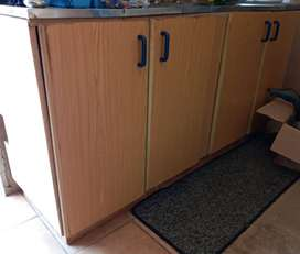 Bargain complete kitchen cupboard