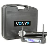 Vonyx WM511 mikrofon bezprzewodowy zestaw