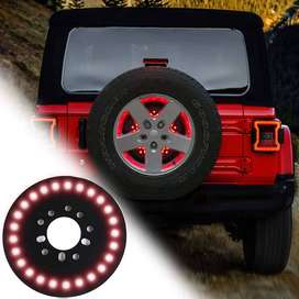Jeep Spare Tire Led Brake Lights Tail Lamps For Jeep Wrangler JK