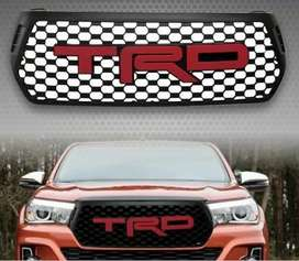 Hilux Revo TRD Front Grill -Red