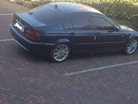 BMW e46 320d With m47 engine swop for bakkiee