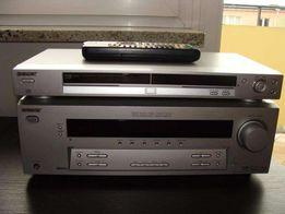 Kino domowe SonySTR - DE495 - amplituner + dvd + 5głośników