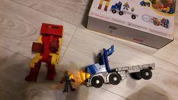 jak nowa wielka ciężarówka i robot imaginext fischer price