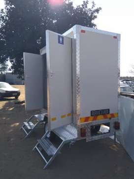 Mobile VIP toilets ,mobile cold rooms and mobile food trucks for sell