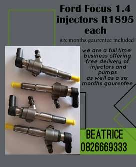 Ford focus 1.4 diesel injectors for sale