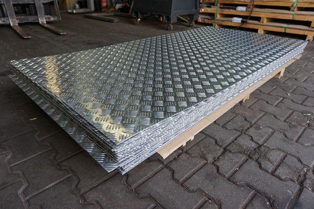 Blacha ryflowana aluminiowa, aluminium 3x1000x2000 Toruń - image 2