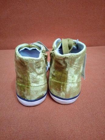 Ботинки Next новые хайтопы высокие кеды 8EU, 16-16.5см Харьков - изображение 2